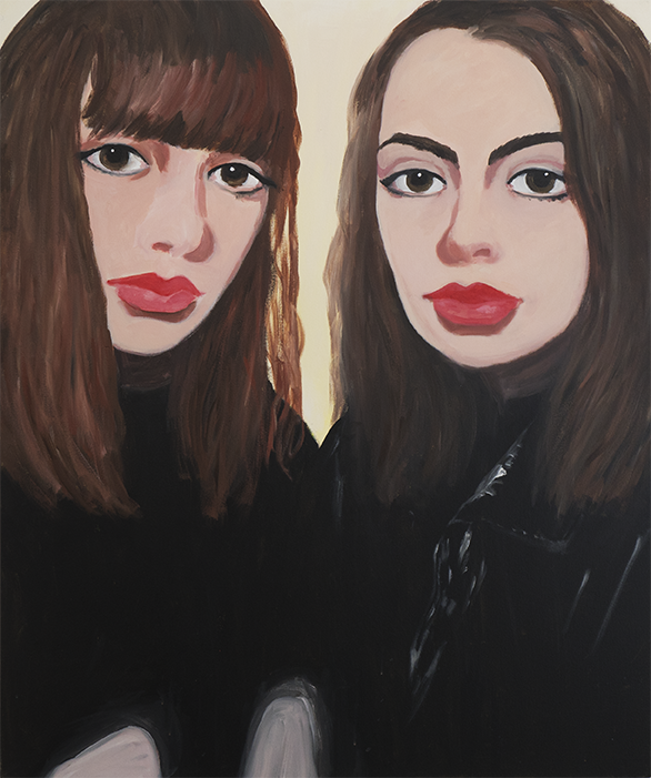 Marie Capaldi - Refulgens acrylic on canvas, 120x100cm, 2018