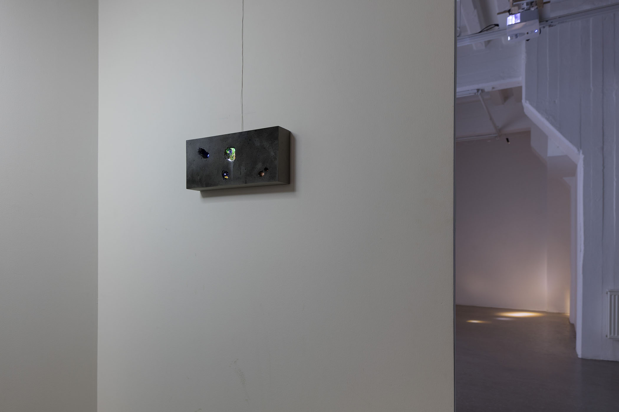 Oscar Furbacken - Concealed Expanse, installation view, 2017