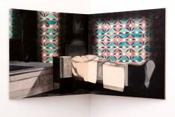 Mikelis Lapsa - Sundown, 110x110 cm x2, acrylic on plywood, 2011