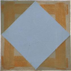 Mikels Lapsa - Sky, 30 x 30 cm, oil on canvas, 2015