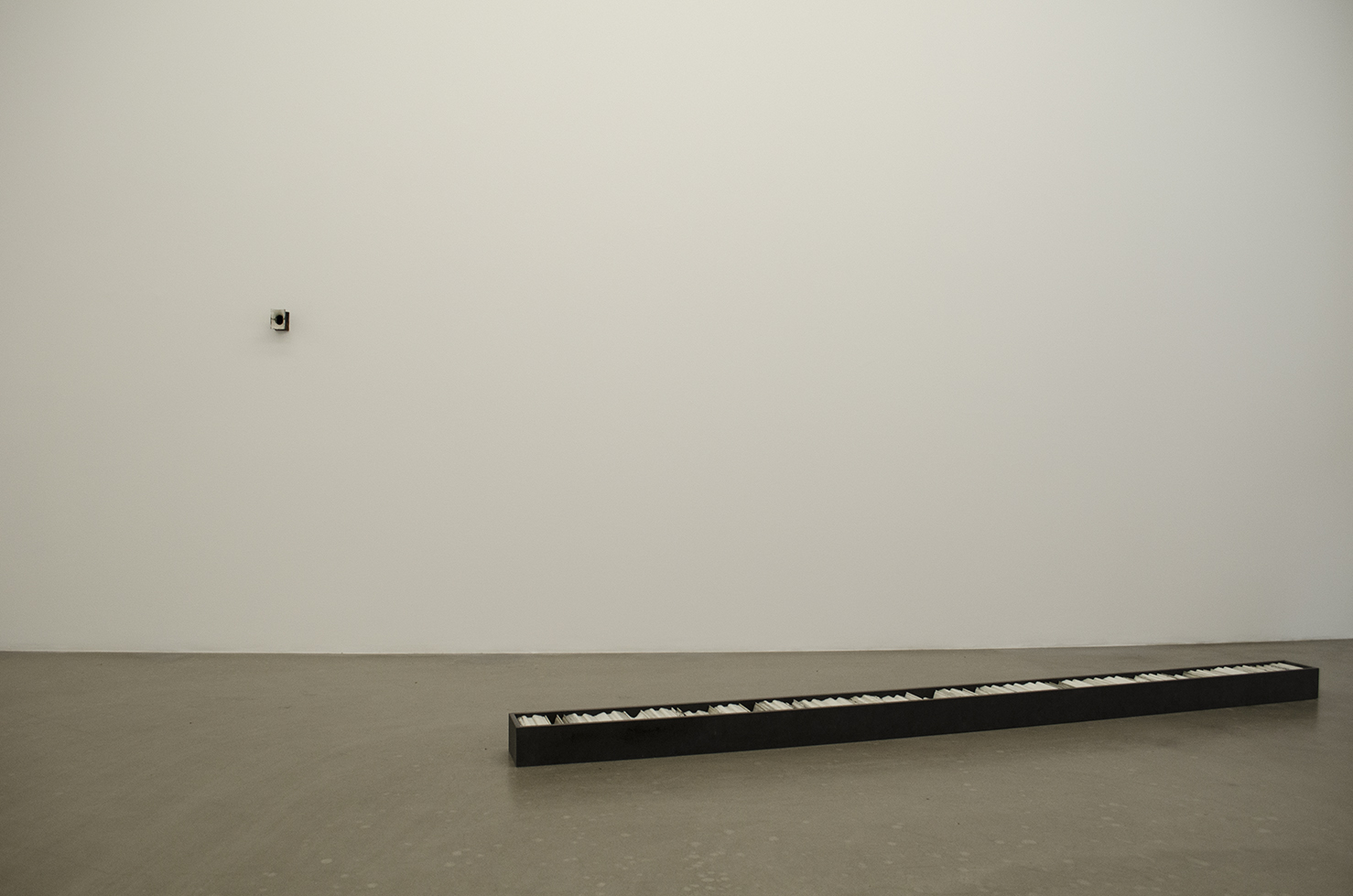 installation view - room 1