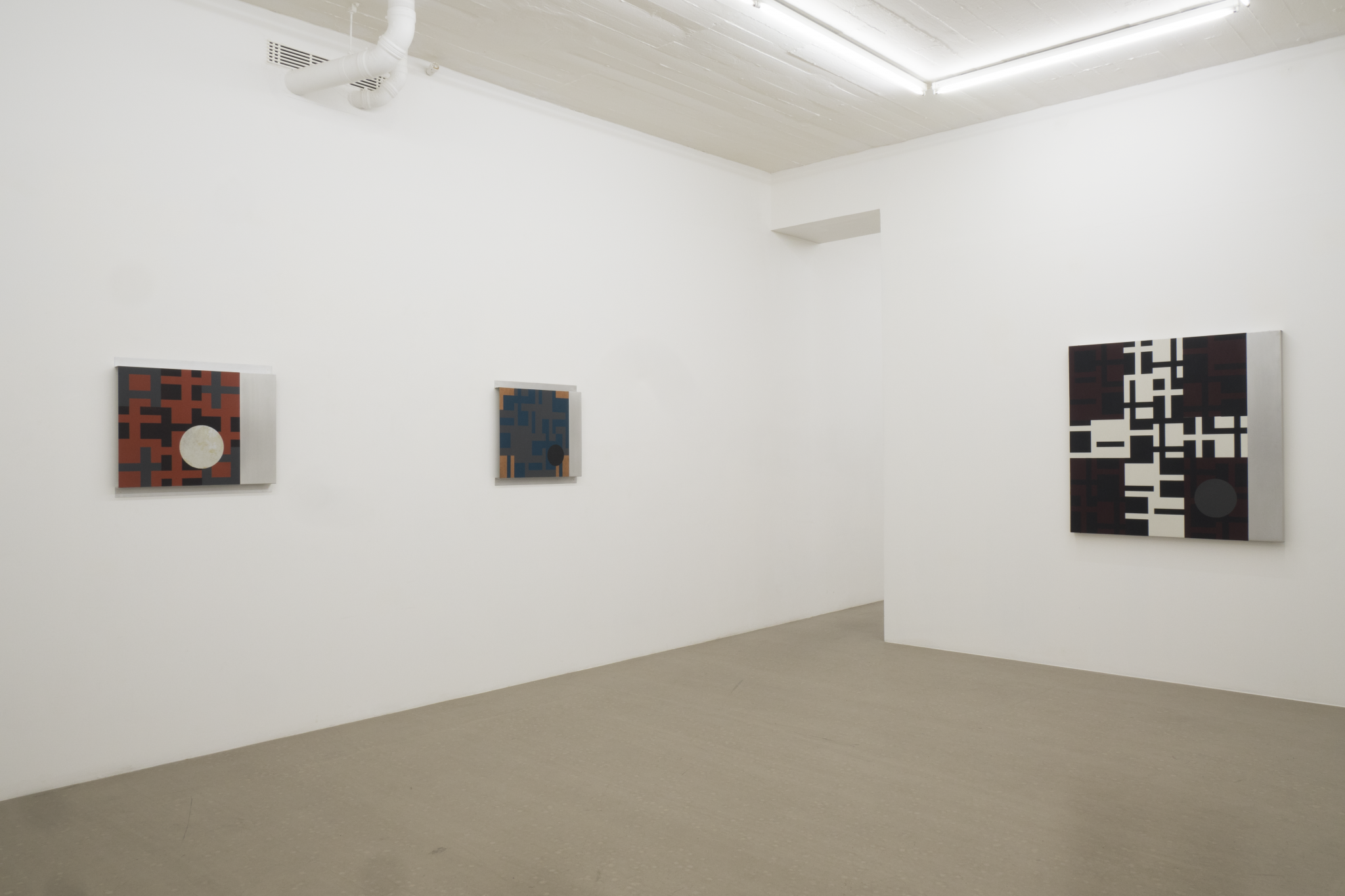 OLLE BORG - All but Heaven, exhibition view room 2
