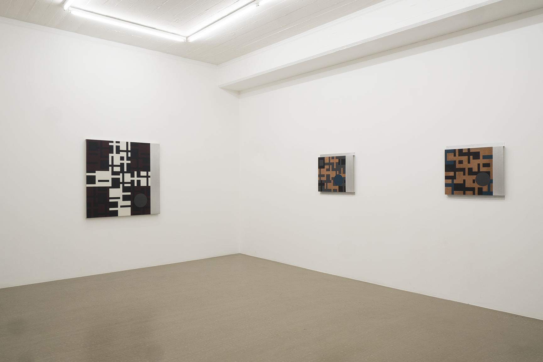 Olle Borg - exhibition view, room 2b