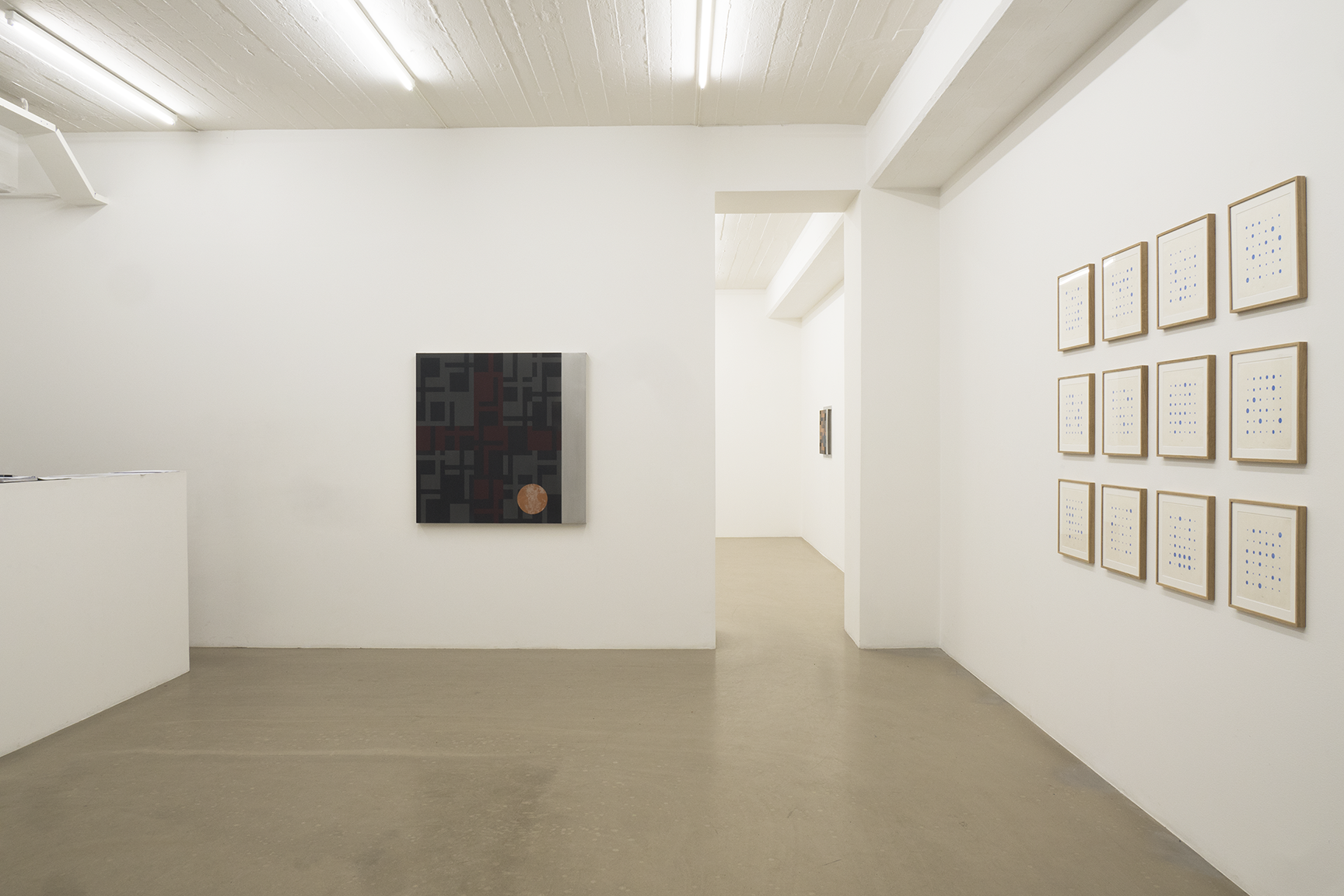Olle Borg - All but Heaven, exhibition view