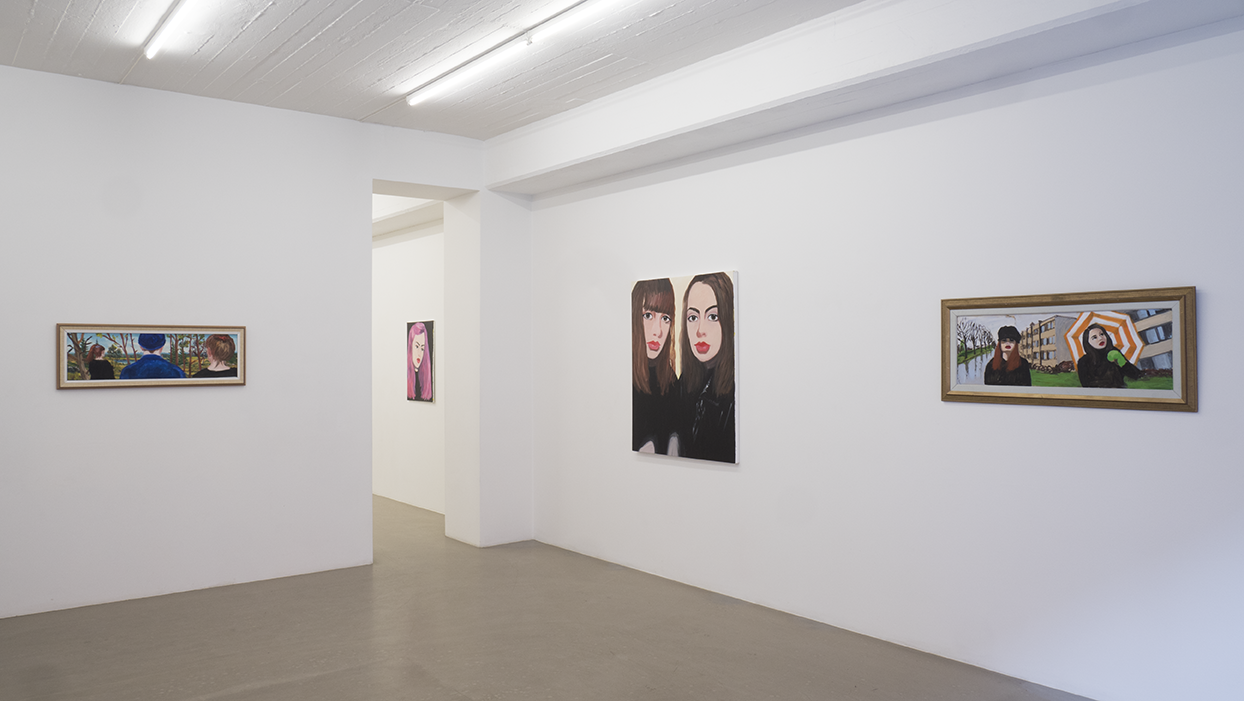 Marie Capaldi - Exhibition view, room 1