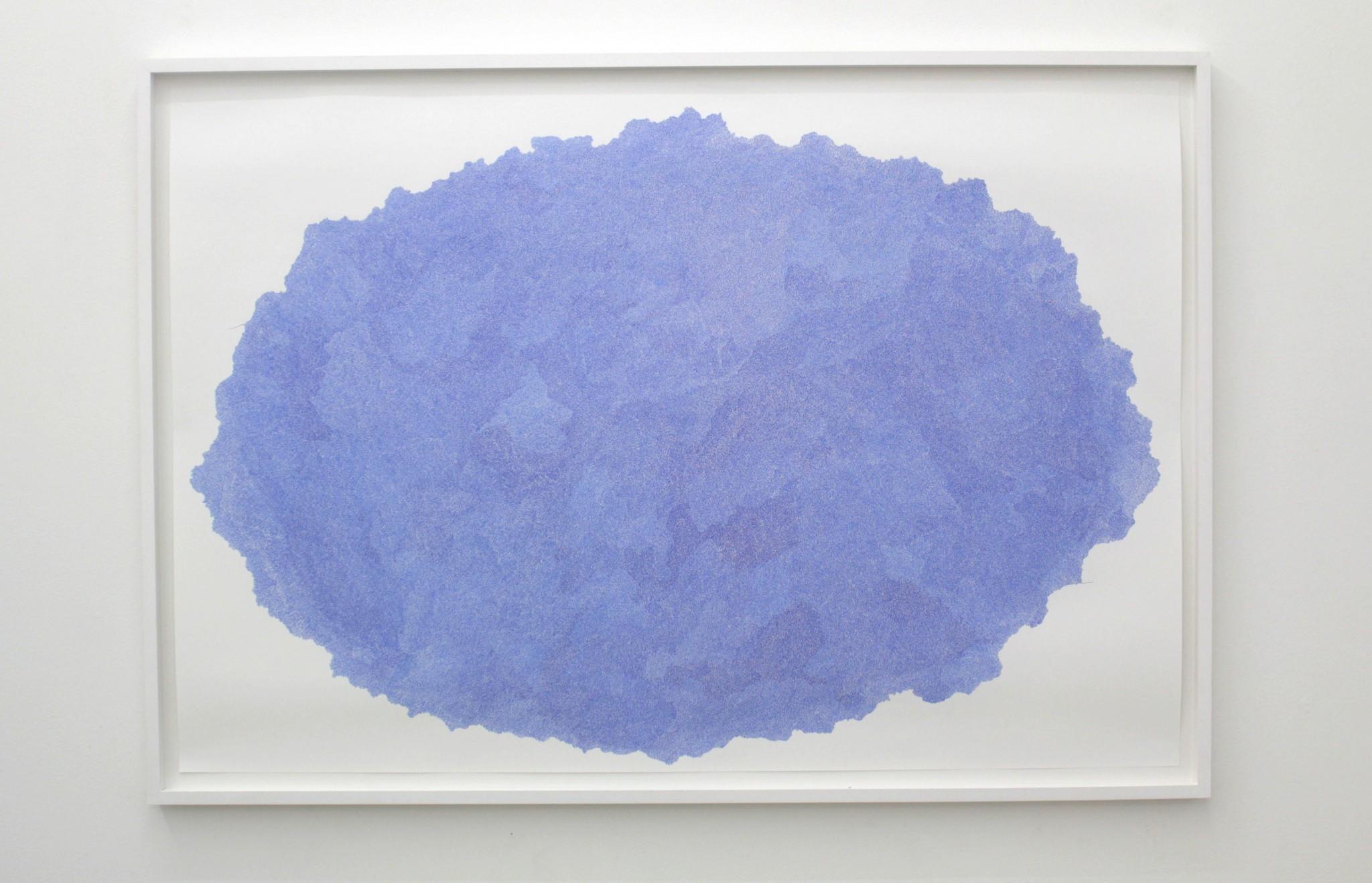 Timescale, 75x110 cm, 2018, Material tusch på papper