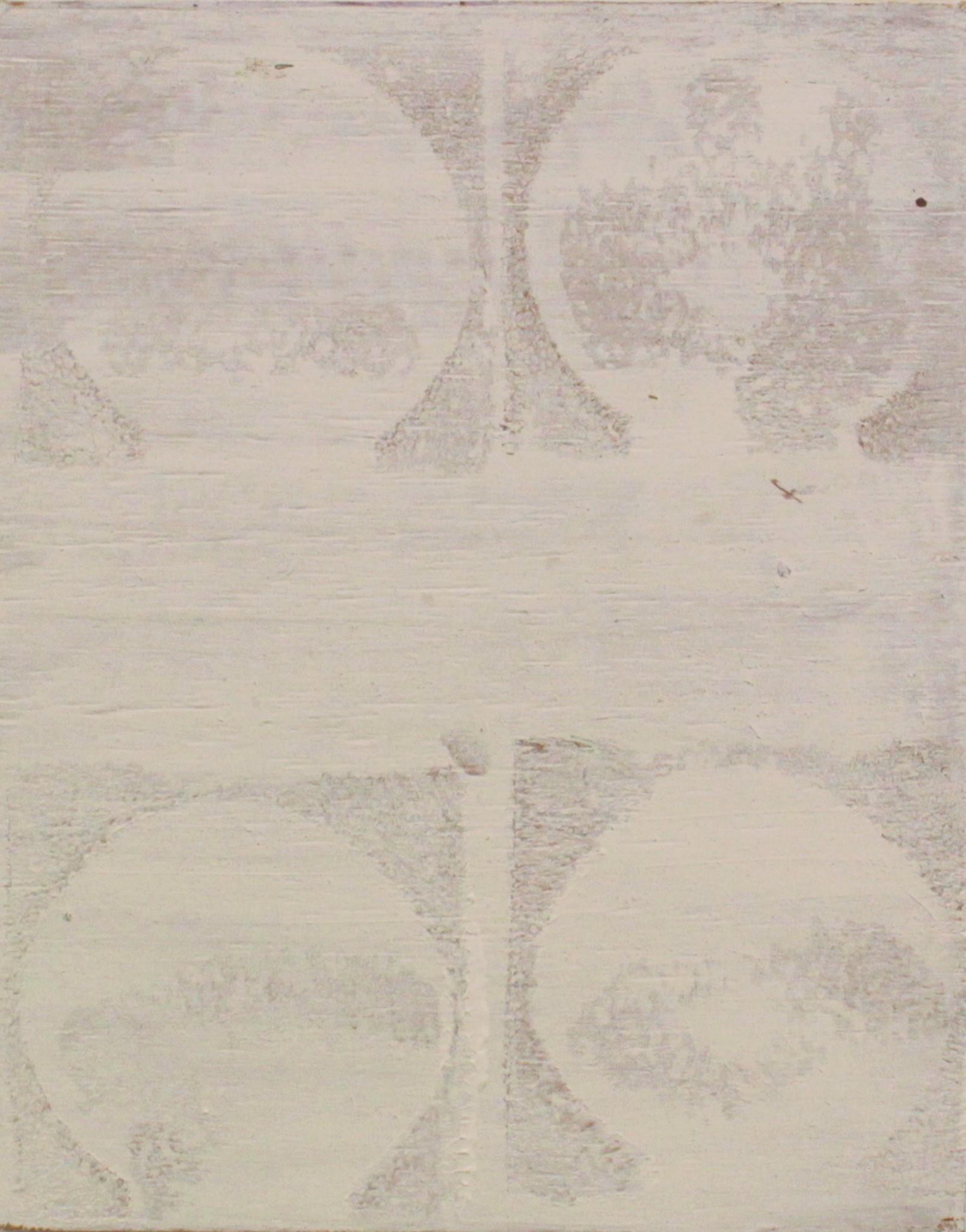 Utan titel, olja på pannå, 24 x 19 cm, 2018