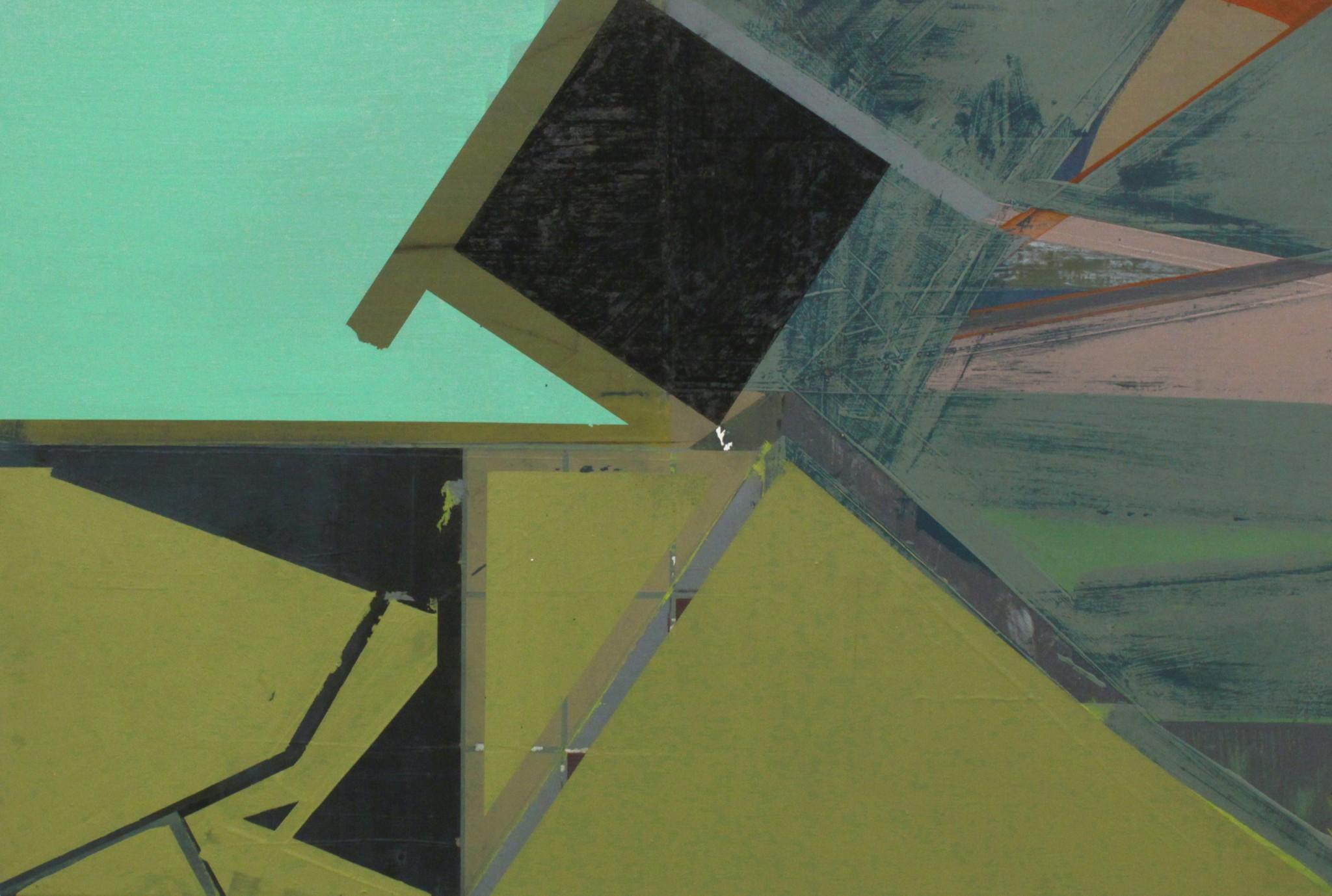 kol, olja på duk, 47 x 70 cm, 2019
