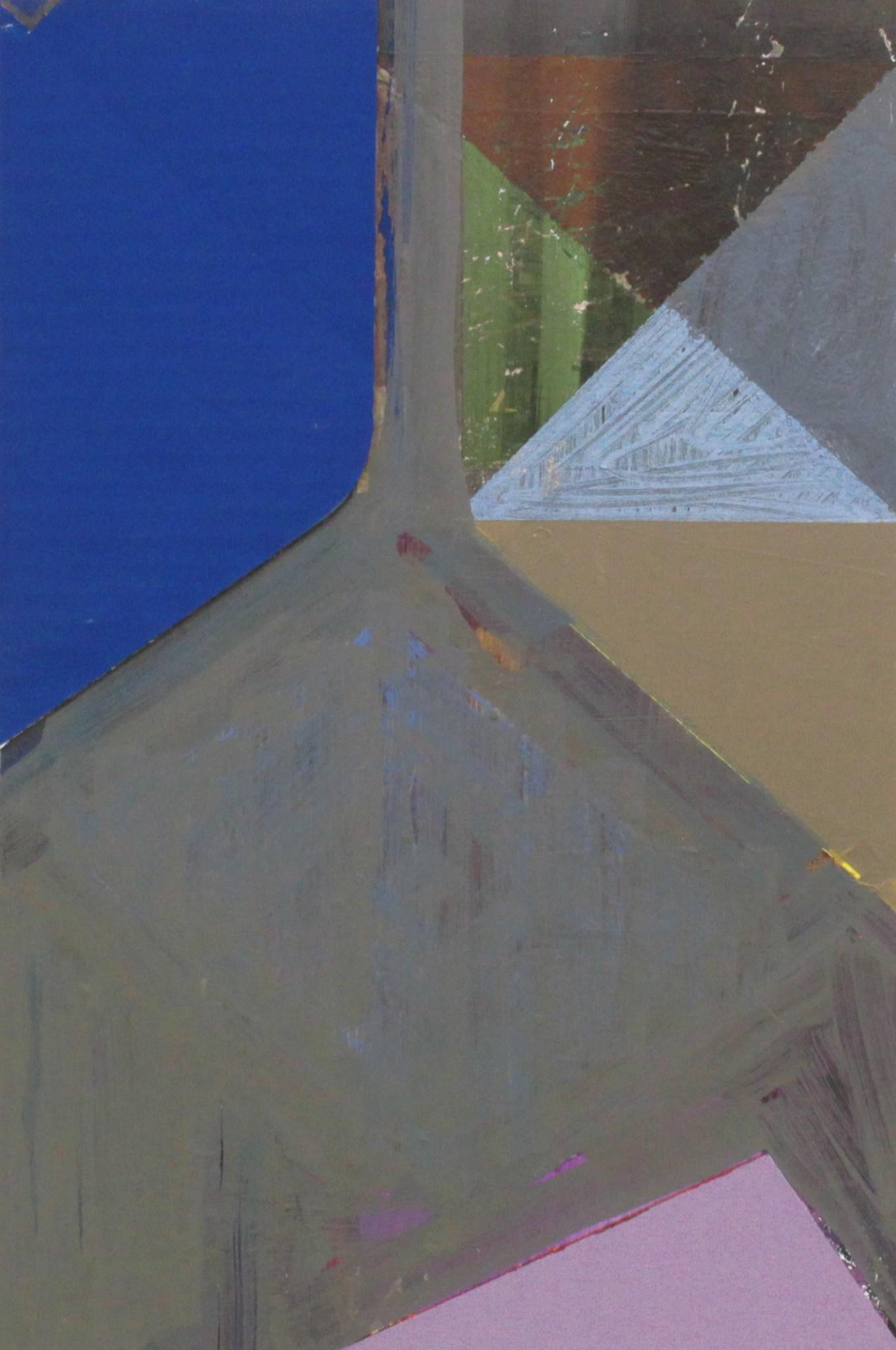 kollage, gouache på papper, 32 x 21 cm, 2019