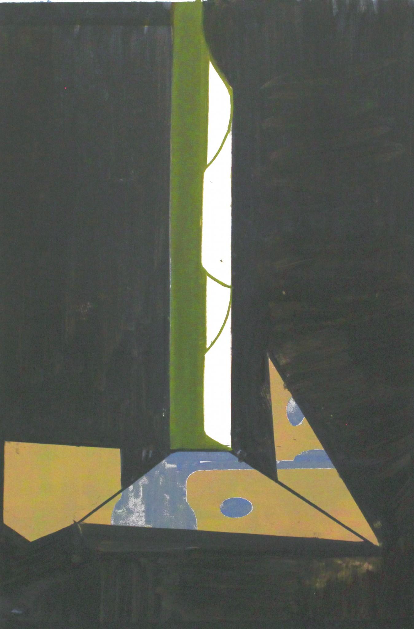olja på duk, 100 x 66 cm, 2019