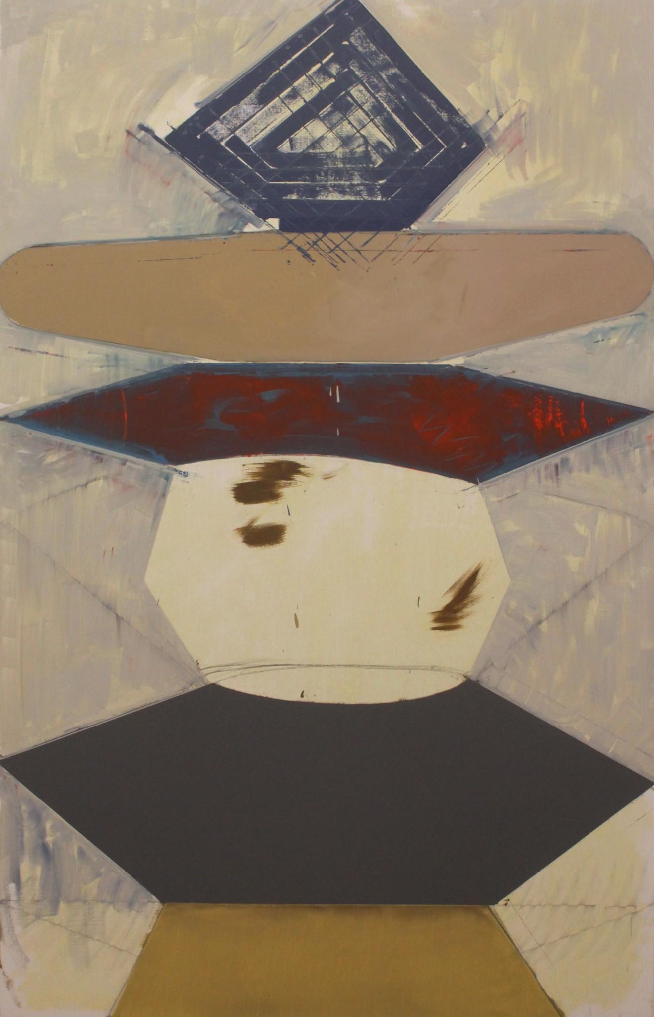 olja på duk, 210 x 130 cm, 2019