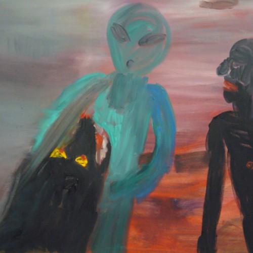 UFO-Olja-på-duk-2009-500x500