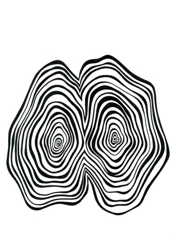 Ur-serien-Känslan-av-mörker-Känslan-av-mörker-tusch-på-papper-185x135cm-2009