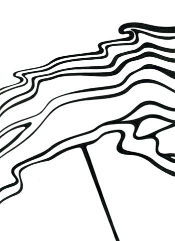 Ur-serien-Känslan-av-mörker-Materialiseras-tusch-på-papper-185x135cm-2009