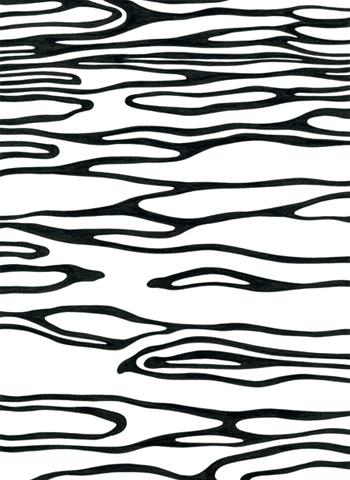 Ur-serien-Känslan-av-mörker-Någonstans-mellan-Dover-Calais-tusch-på-papper-185x135cm-2009