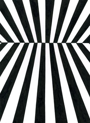 Ur-serien-Känslan-av-mörker-Universums-horisont-tusch-på-papper-185x135cm-2010