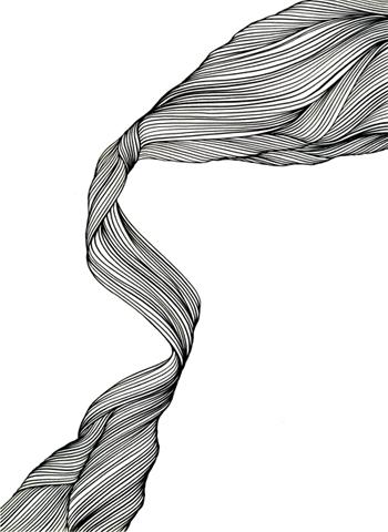 Ur-serien-Känslan-av-mörker-Vårbris-tusch-på-papper-185x135cm-2010