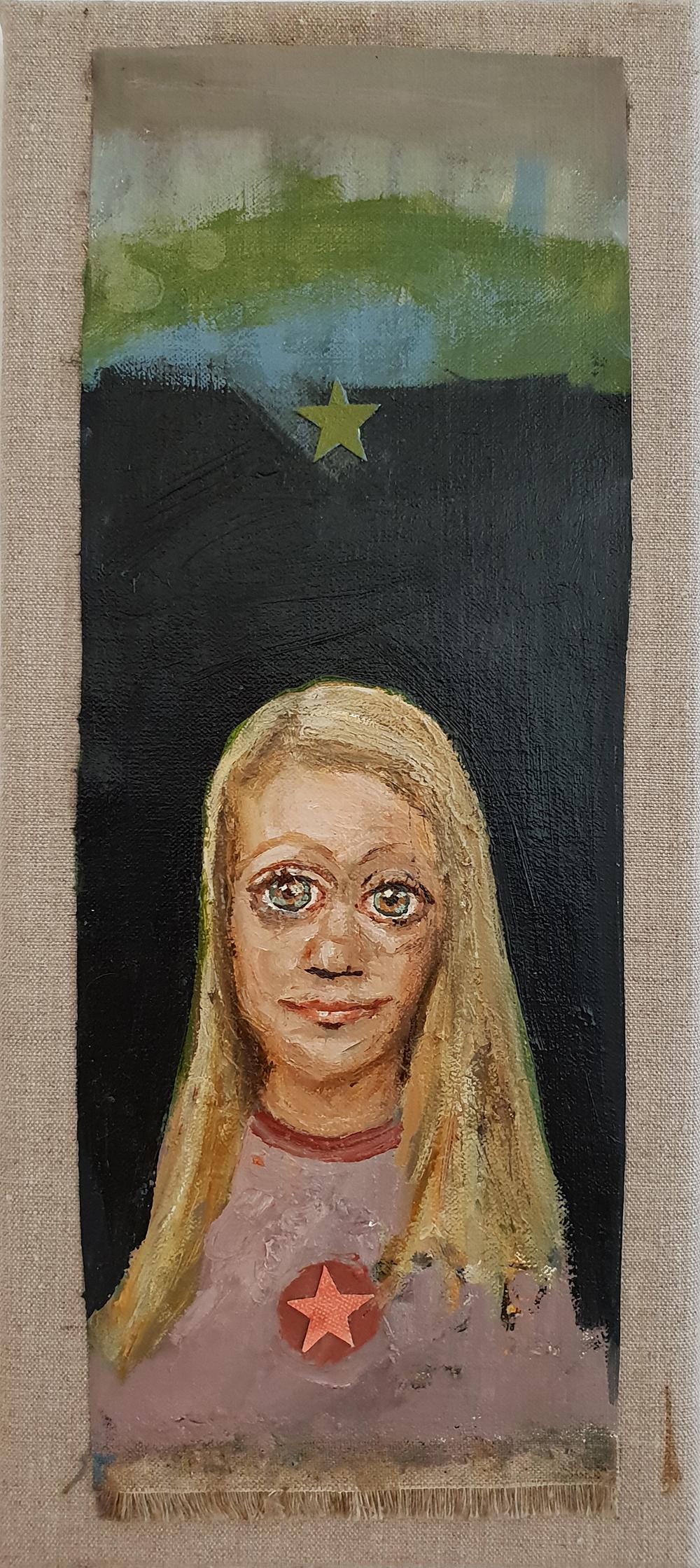 Porträtt 17x39cm
